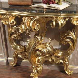 Luxury console baroque