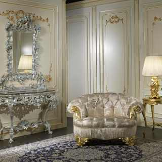 Classic armchair living room Paris