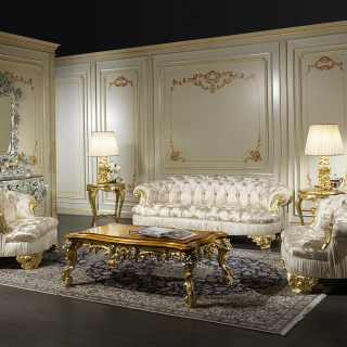 Sofas classic living room Paris