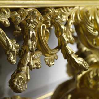 Console baroque luxury style