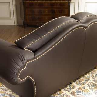 Quilted luxury sofa