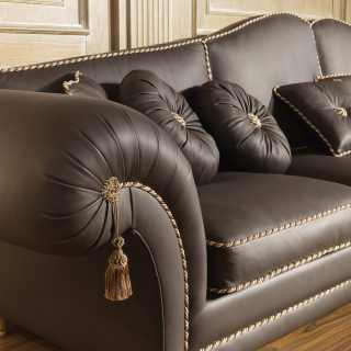 Sofa in luxury leather