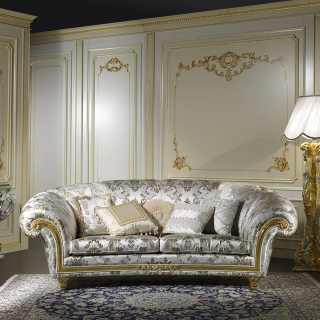 Furniture for a living room in classic style
