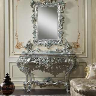 Carved baroque classic console