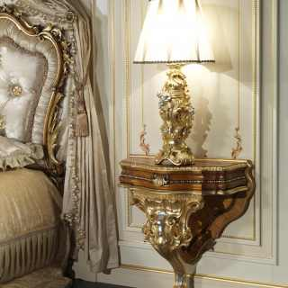 Baroque style classic night table
