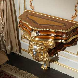 Baroque carved classic nignt table