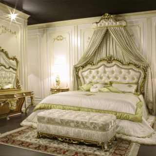 Classic bedroom furniture baroque art 2013 Vimercati Classic