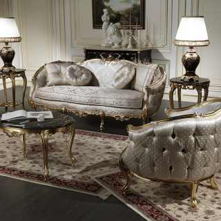 Style classic sofas of the Venezia collection
