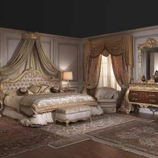 Furniture for luxury bedroom Louis XV style