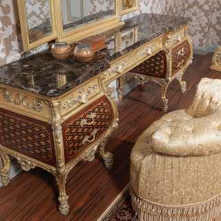 Luxurious dressing table Louis XV style