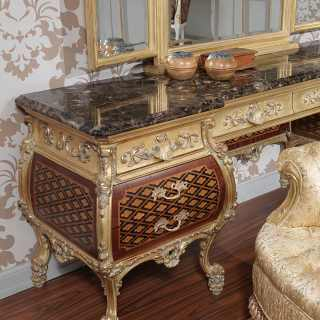 Luxury dressing table Louis XV style