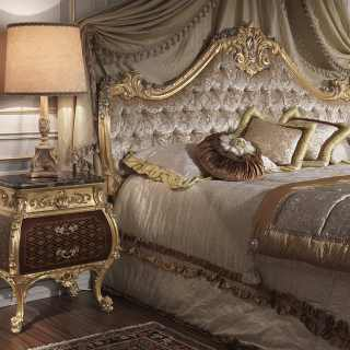 Luxury night table Louis XV style