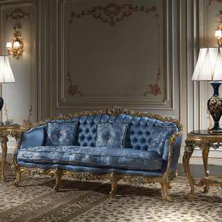 Luxury sofa of the luxury classi collection Living Room Eighteenth Century