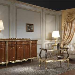 Room furniture in classic style Luigi XV