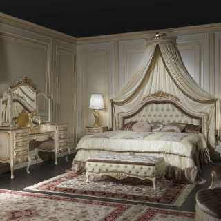 Bedroom furniture classic style Louvre