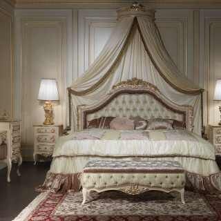 Classic style bed collection Louvre 943