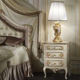 Luxury Сlassic Style Nightstand Louvre 943
