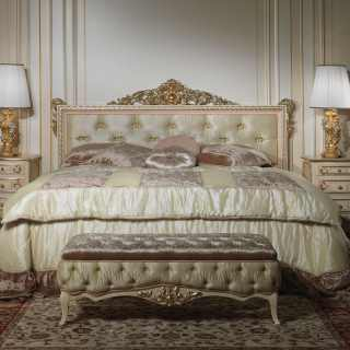Classic style double bed Louvre 943