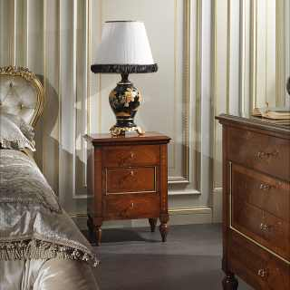Classic inlaid bedside table Maggiolini