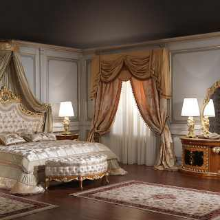 Baroque bedroom forniture collection art. 2012