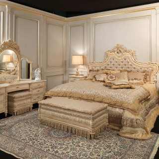 Ordinaire Luxury Classic Bedroom White And Gold, Luigi XVI Style Art. 2006