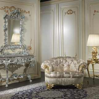 Baroque luxury console