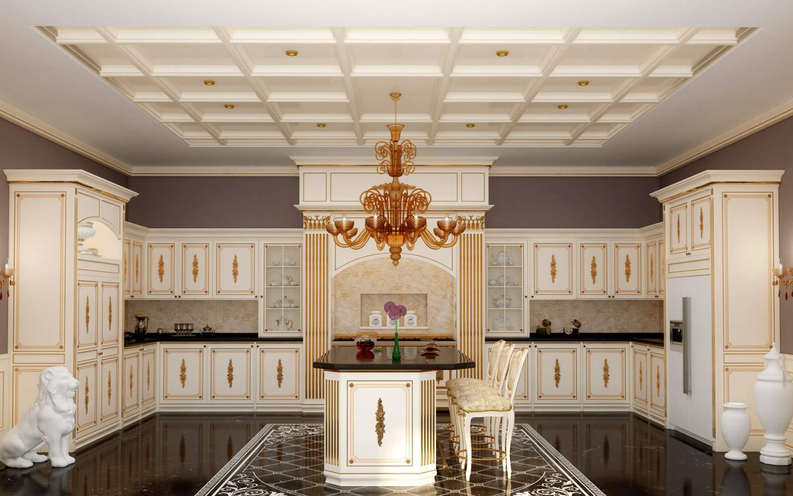 Classic tailored kitchen Olga