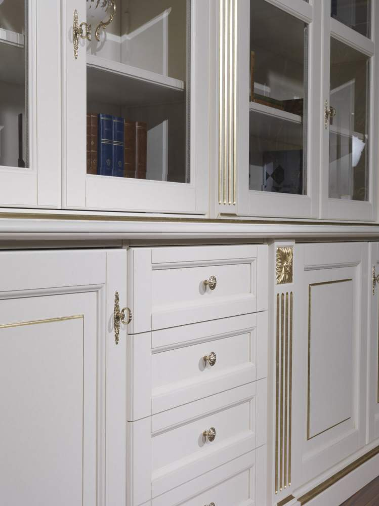 Library for a classic living room 2009