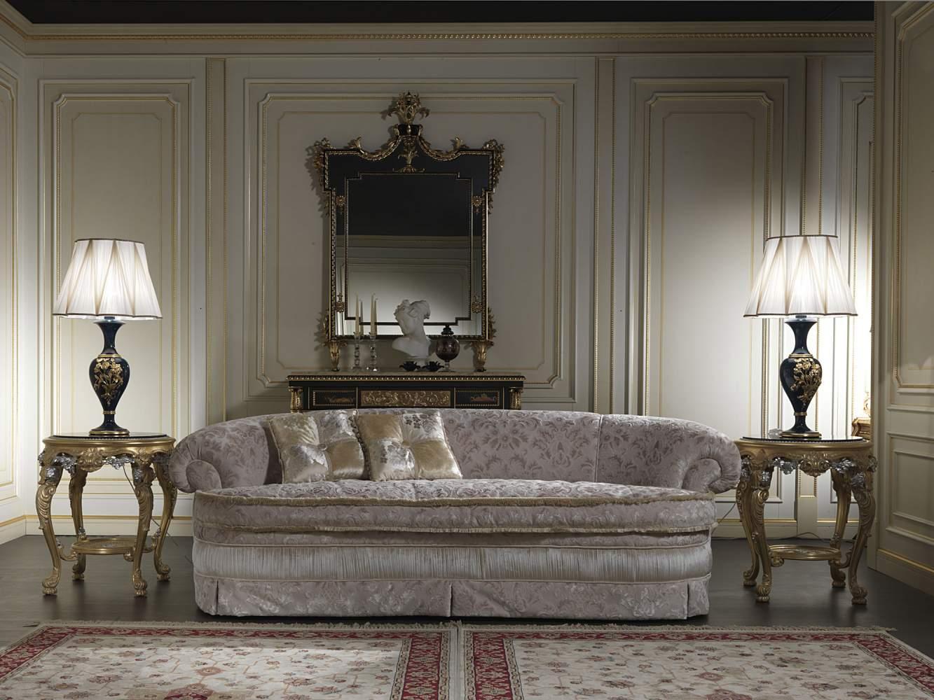 Classic elegant sofa, living room London