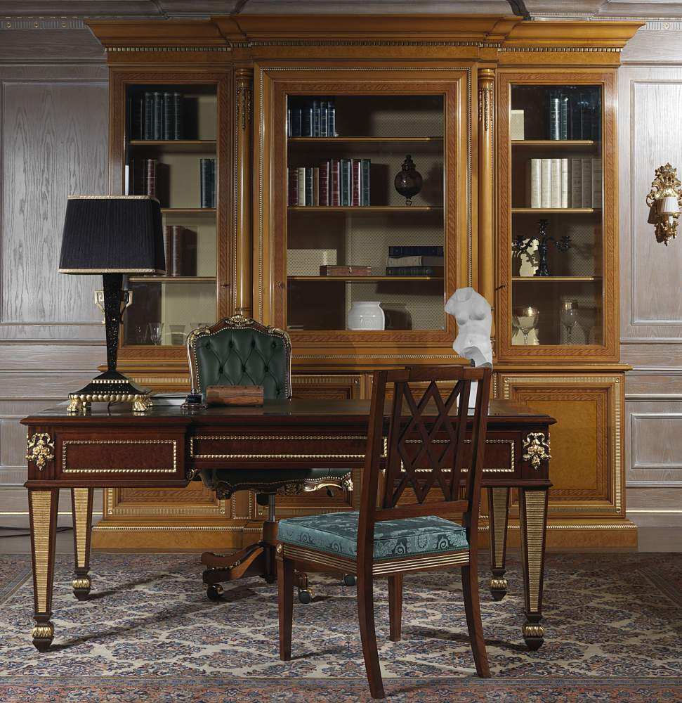 Library for office in classic style