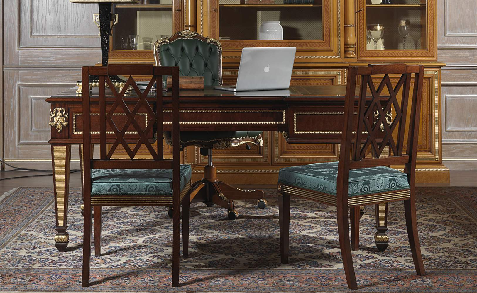 Chairs for office in classic style