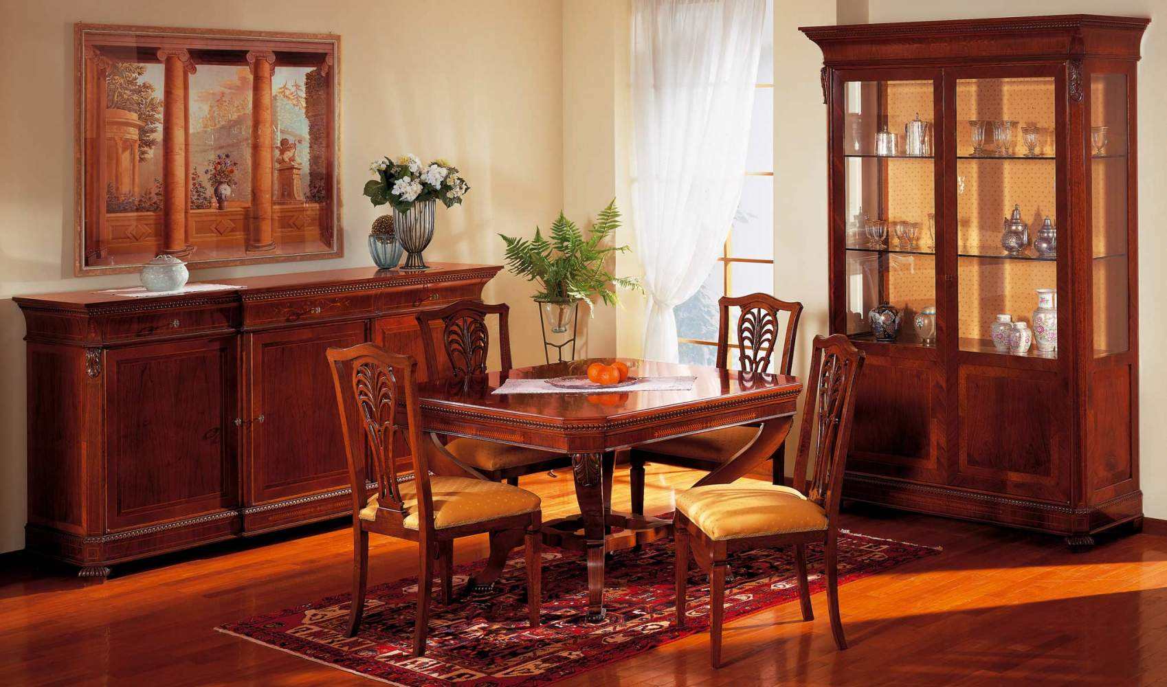 Charles X style dining room