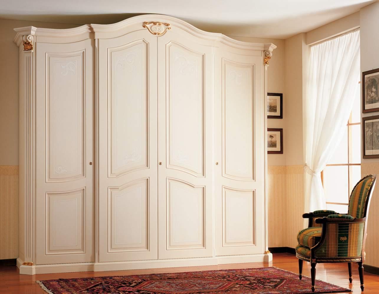 Armoire xviiie si cle quatre portes vimercati classic - Armoire quatre portes ...