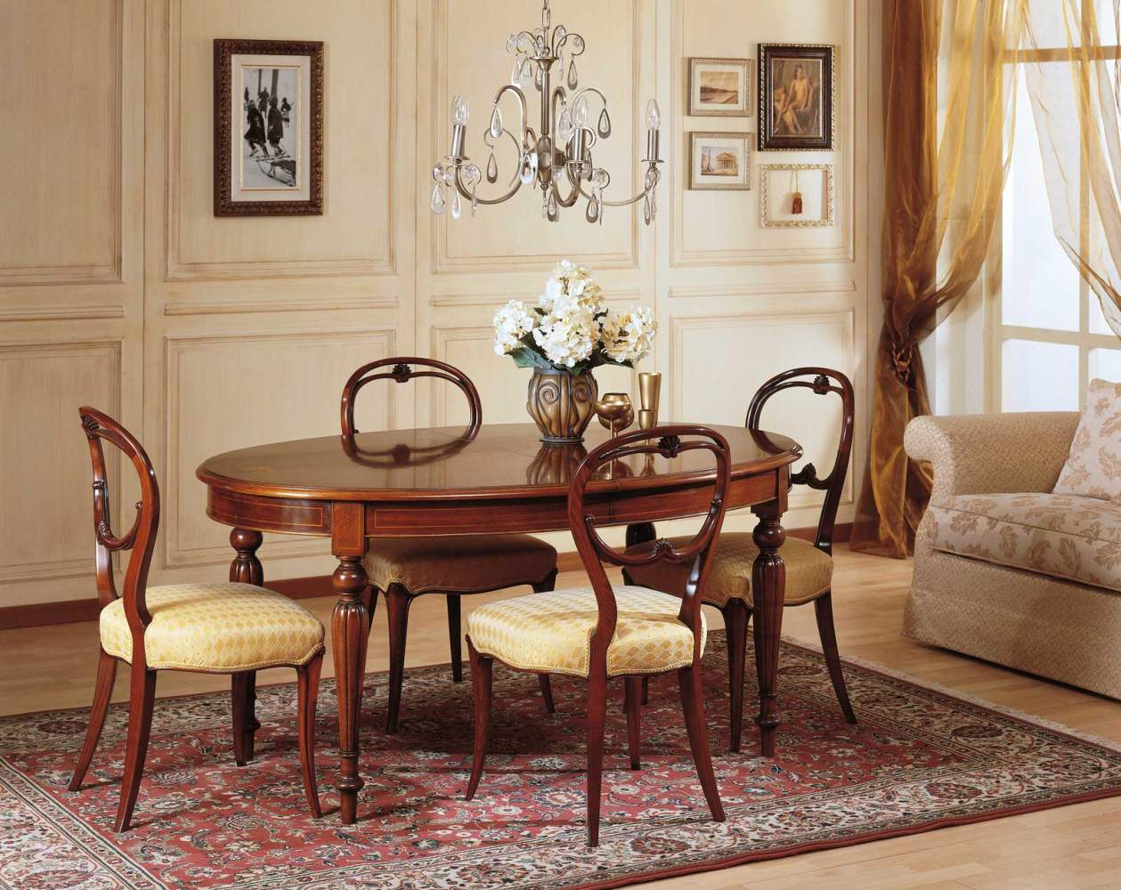 Dining room french 19th century