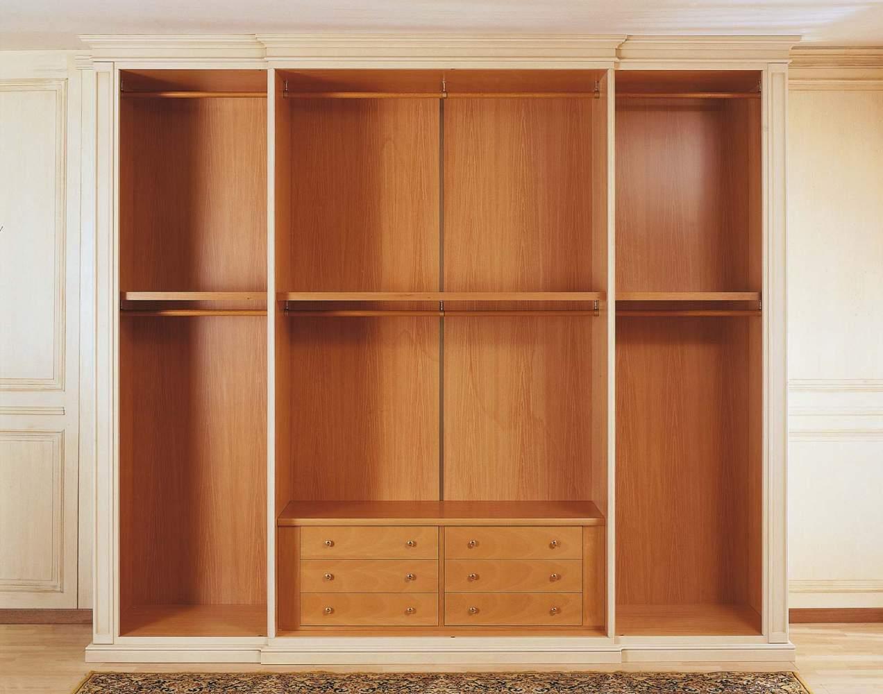 Classic wardrobe Canova, internal