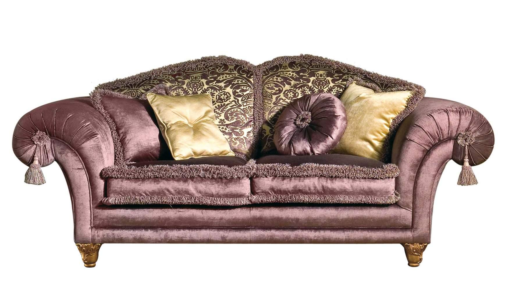 Classic sofa majestic vimercati classic furniture for Classic sofa