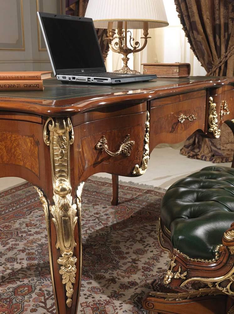 Writing table Louis XV style, detail  Vimercati Classic Furniture