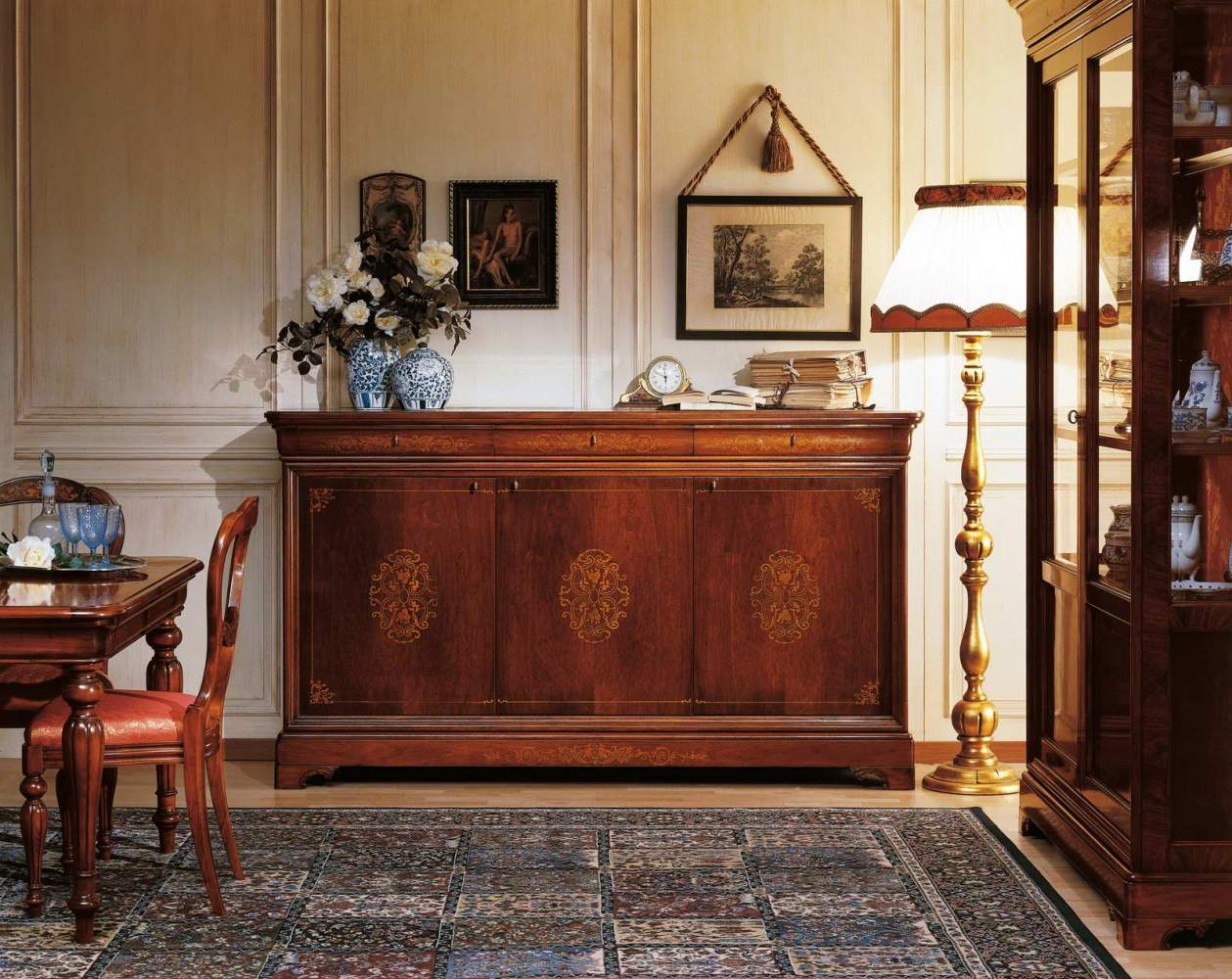 Sideboard in 19th century french style