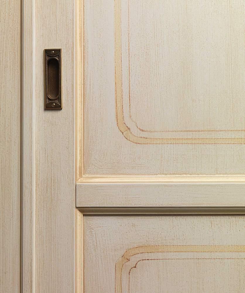 Classic wardrobe Provenza, door and handle