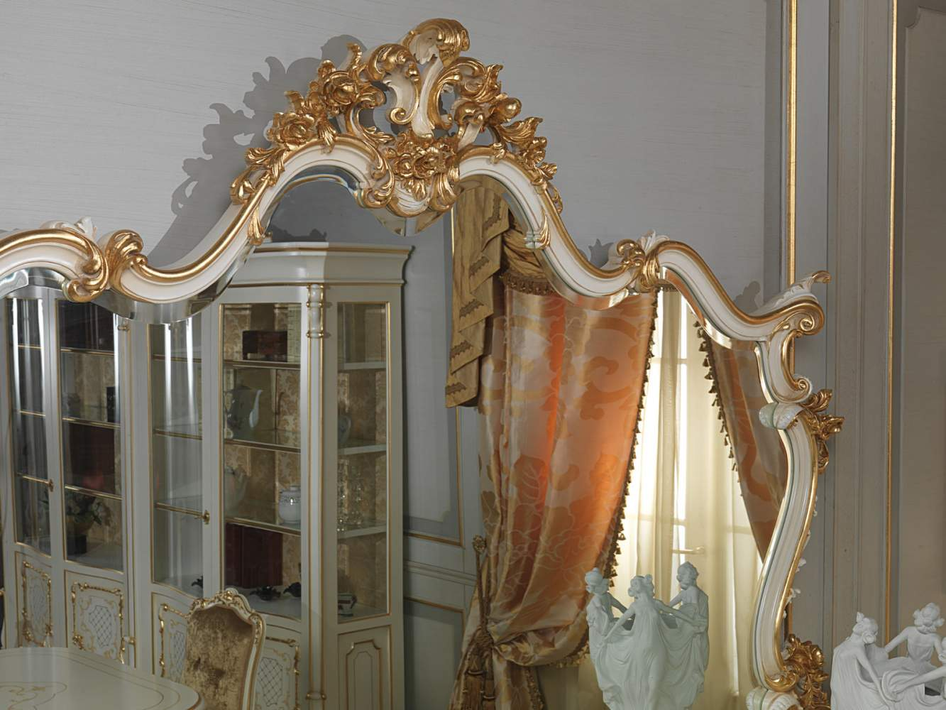Mirror in Louis XV style