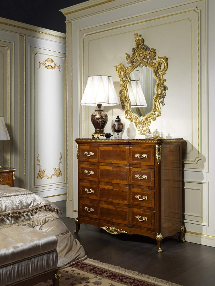 Classic chest of drawers collection Louis XV France
