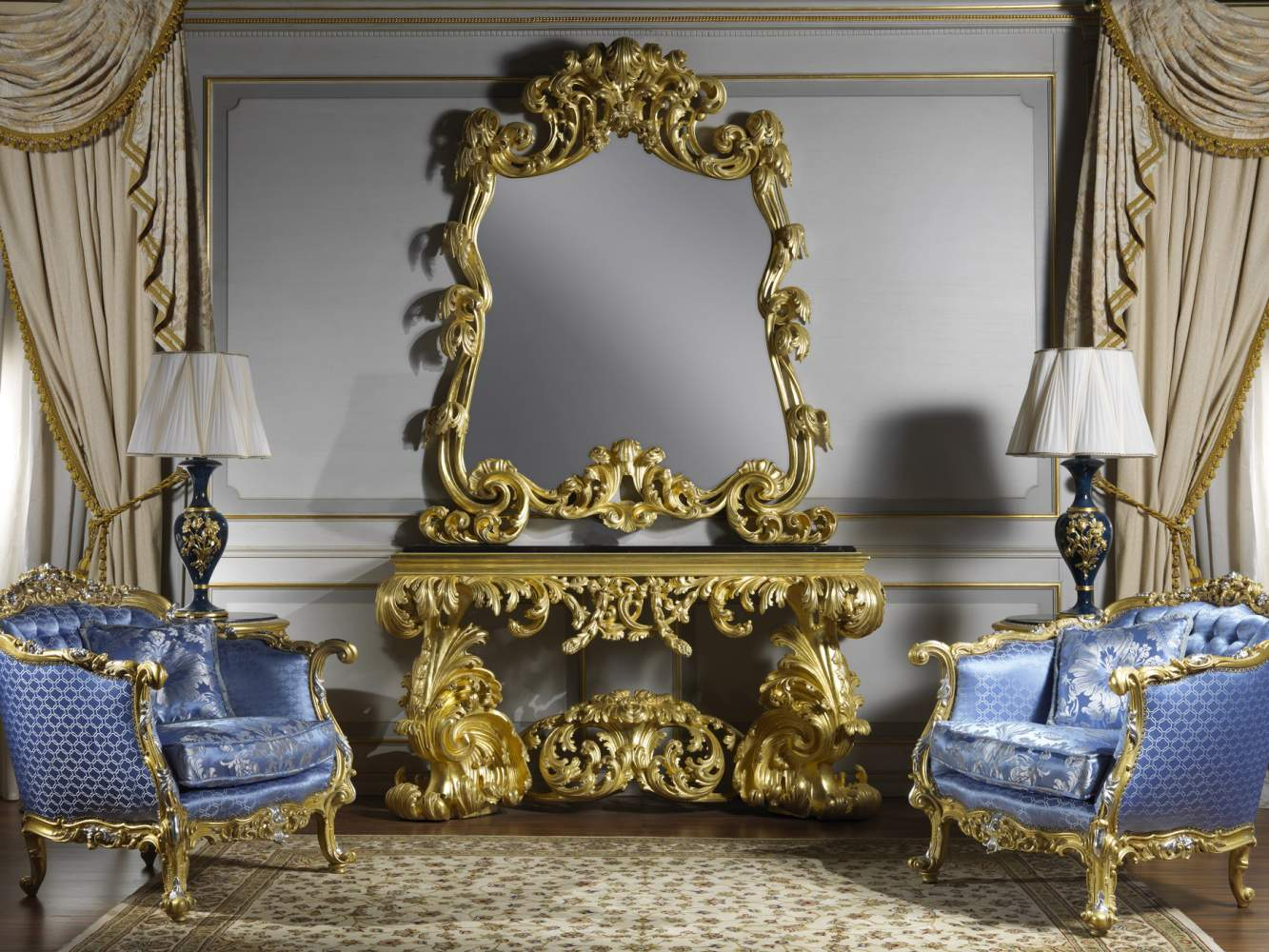 Baroque console in style art.995