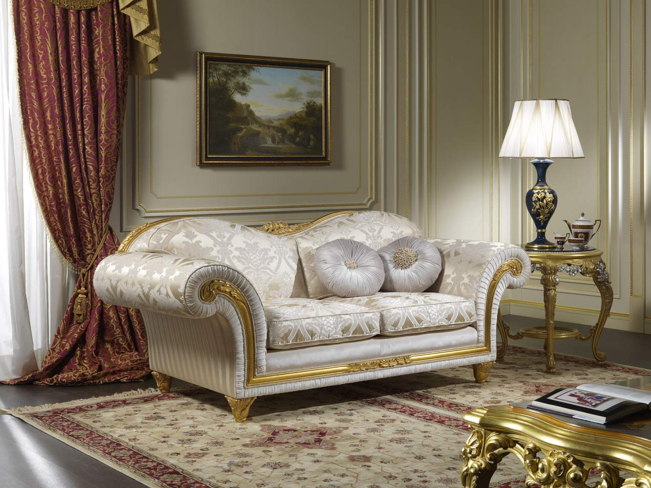 Furnishing for living room in classic style Excelsior