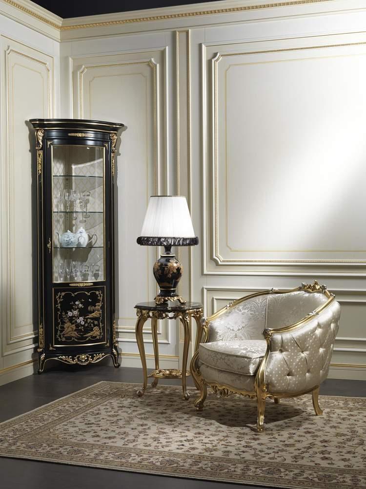Cabinet showcase luigi xv in chinese style