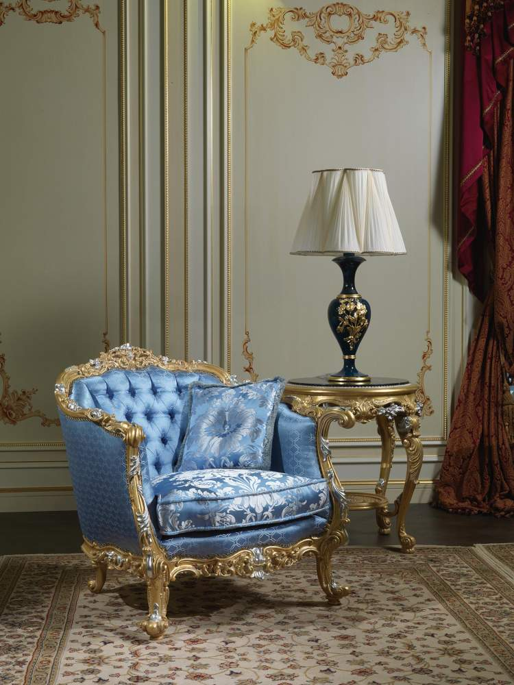 Luxury armchair Living Room Eighteenth Century SE 303