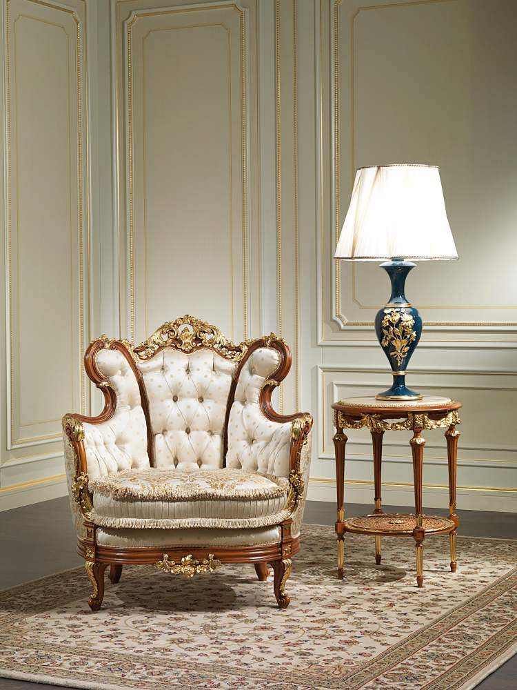classic luxury armchair 800 vimercati classic furniture. Black Bedroom Furniture Sets. Home Design Ideas