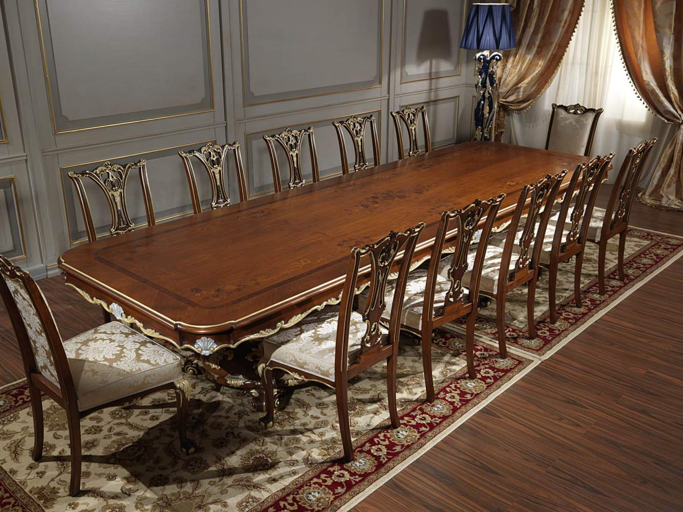 Classic Table Living Room In Louis Xv Style Vimercati