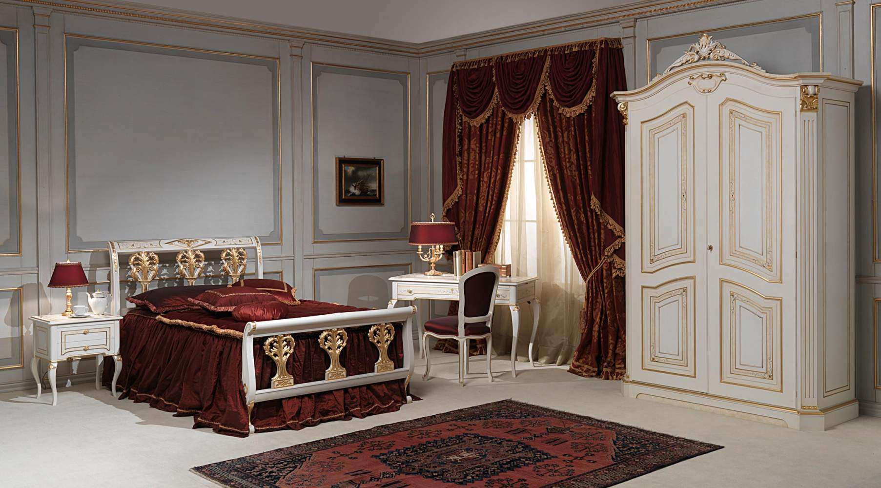 French bedroom 18th century Rubens | Vimercati Classic Furniture