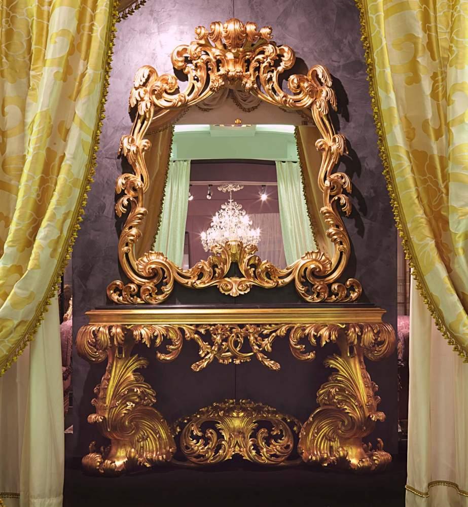 Italian baroque console 17th century
