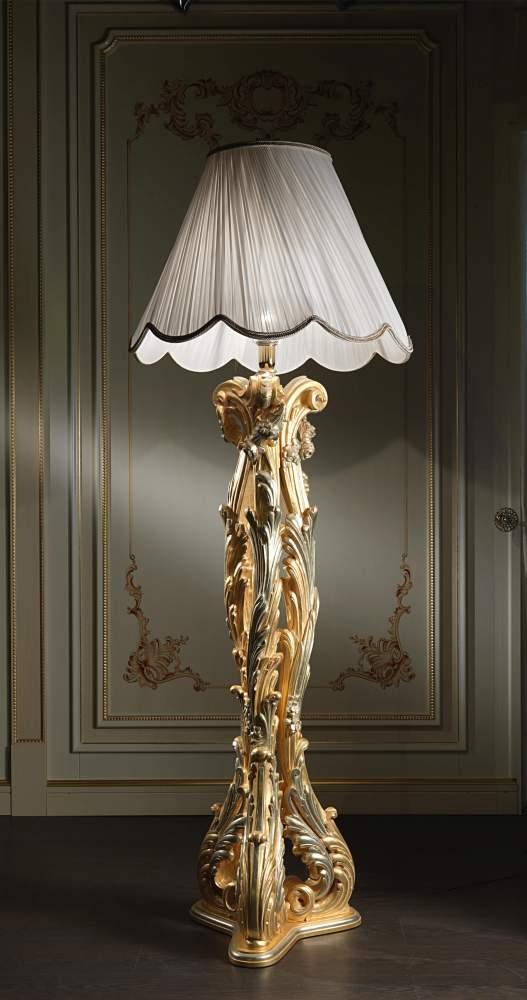 Classic floor lamp in Baroque style